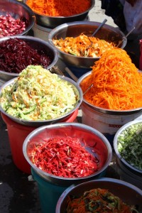 ingredients of the Uzbek salad