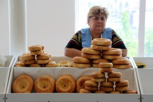 the bread lady, one of even more
