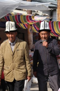 two Kyrgyz men
