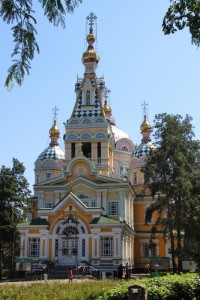 the Zenkov Cathedral, also predating Soviet times, and apparently entirely made of wood