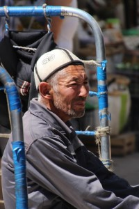 one of the porters, waiting for work
