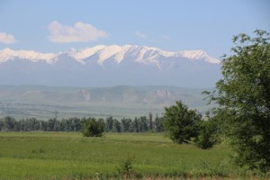 the Ala-Too mountains south of Bishkek, once again