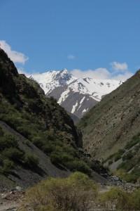 one of the narrow valleys off the Kara-Balta river