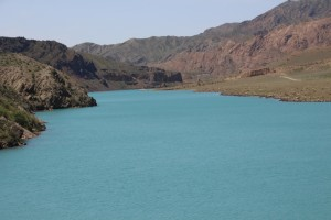 another one of the lakes in the Lower Naryn River