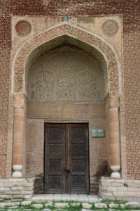the nicest, most authentic mausoleum in Uzgun