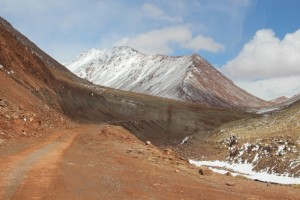the Kyzil-Art Pass, the border between Kyrgyzstan and Tajikistan