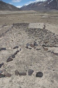 geoglyphs on the valley floor