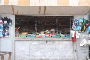 another container shop in the bazaar