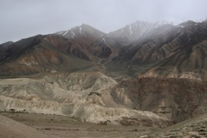 more Afghan mountain sides and badland-weathered alluvial fans