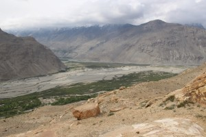 where the Pamir River joins the Panj River