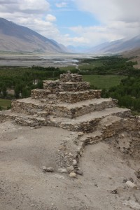 4th Century Buddhist stupa near the village of Vrang