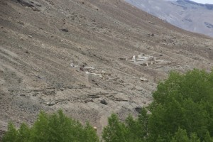 mountain slope cemetery, Vrang