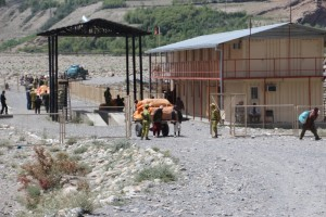 the Afghan border post