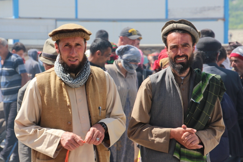 two Afghan men