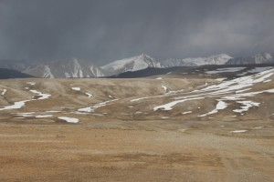 the landscape at the pass, spooky, and utterly desolate