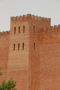a tower of the fortress: 21st Century replica