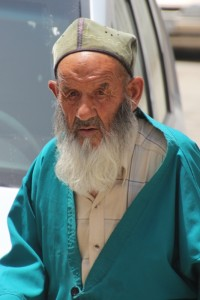 one of the mosque goers