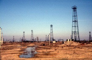 the Patos Marinza oil field, the biggest field of Albania