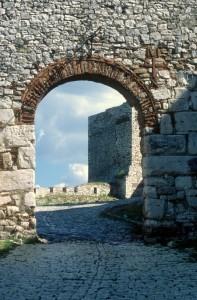entrance to the Berat citadel