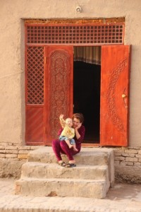 people everywhere in Central Asia are friendly and hospitable