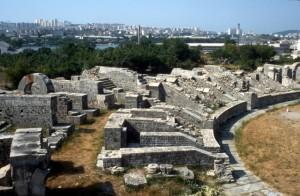 Roman amphitheatre in Solina