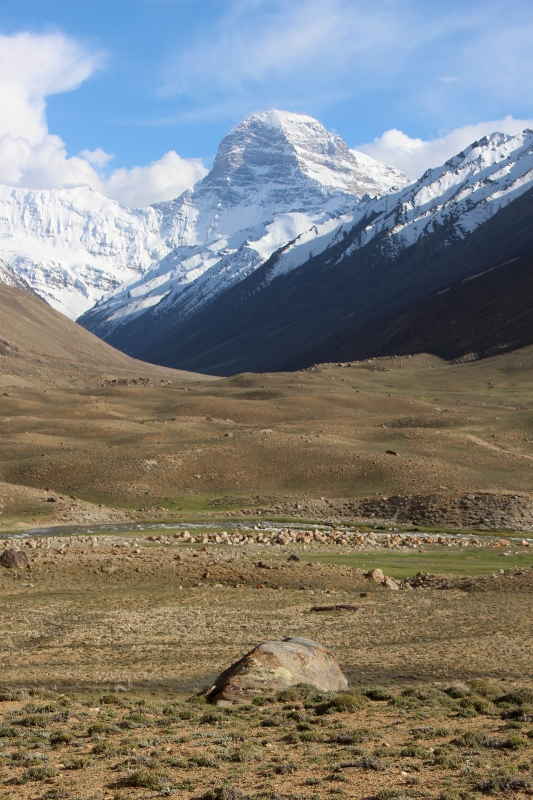 één van de pieken in Tajikistan, Pik Engels (niet ver van Pik Karl Marx)