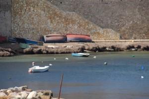 more boats along the Trapani shore