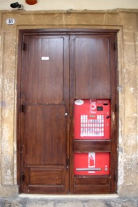 another cigarette vending machine, pretty rare at home, these days