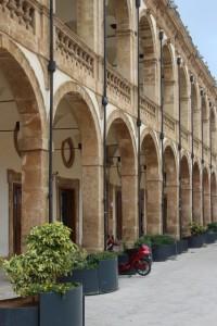 an elegant building in Mazaro del Vallo