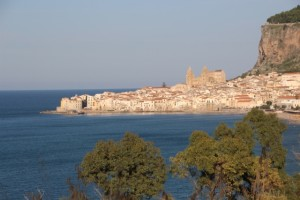 the old town of Cefalu