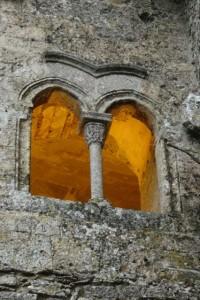 Sicilian church windows, or a museum