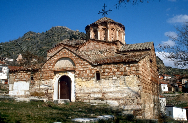 another orthodox church. near Stobi