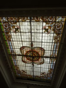 ceiling of the Circulo Italiano