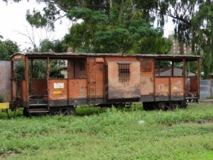 rolling stock no longer used