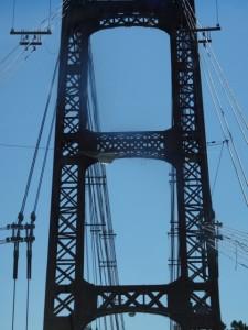 Santa Fe's suspension bridge