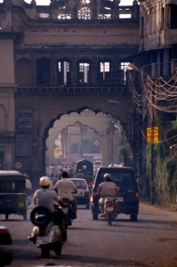 one of the Bhopal city gates