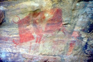 another of the rock paintings