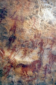 Bhimbetka rock painting