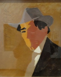 "one of my favourites, Uruguayan Rafael Barradas ""portrait"" (1916/17)"