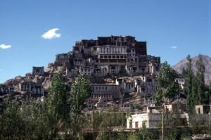 Buddhist monastery near Leh