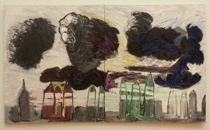 """""""black clouds over the city"""" (1984)"""