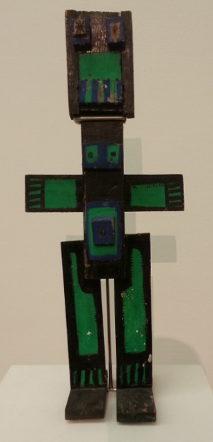 """a fabulous sculpture: """"green personage"""" (1947)"""