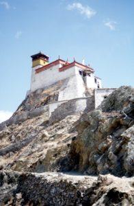 the fortress monastery of Yumbulakhang