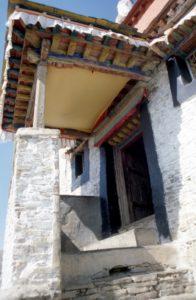 entrance of the Yumbulakhang monastery