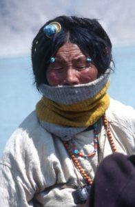 Tibetan woman
