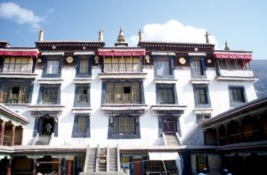 the main building inside the Sera monastery