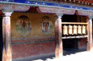 the prayer wheel circuit at Sera