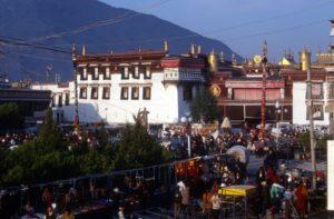 Johkang temple at the Barkhor Square