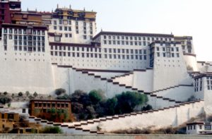 only one side of the palace