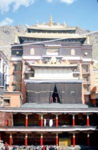 the Tashilunpo Monastery